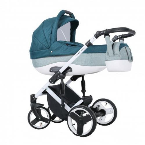Детская модульная коляска Quali Carmelo 4 в 1