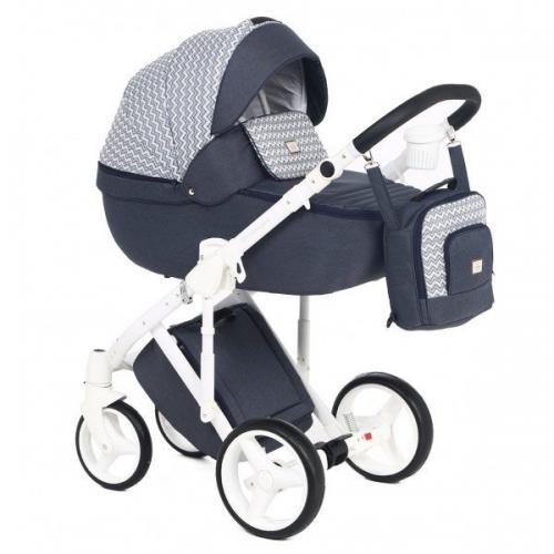 Детская модульная коляска Adamex Luciano 2 в 1