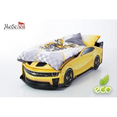 Комплект постельного белья для кроватки-машинки