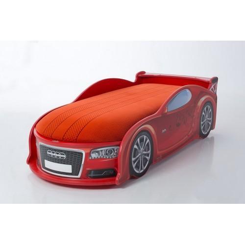 Детская кроватка-машинка Ауди А6 с подсветкой фар
