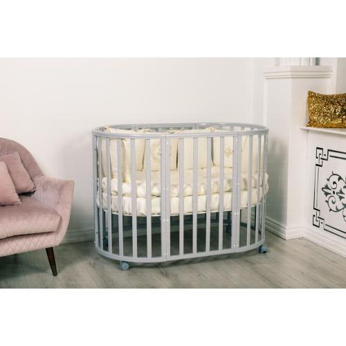 Детская кроватка INCANTO Mimi колесо 7 в 1