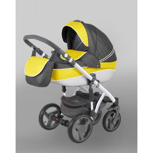 Детская модульная коляска Adamex Encore 2 в 1
