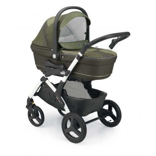 Детская модульная коляска CAM Dinamico Up Stone 2 в 1
