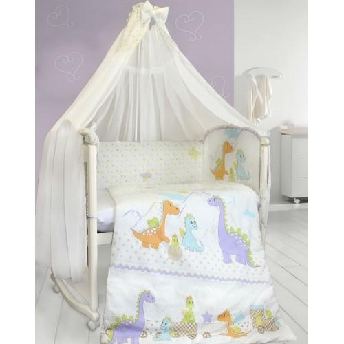 Комплект детского постельного белья Bombus Dino 7 предметов