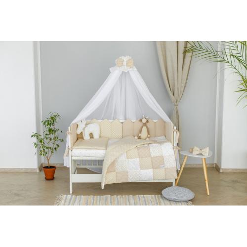 Комплект постельного белья Martoo Mosaik 8 белый-беж