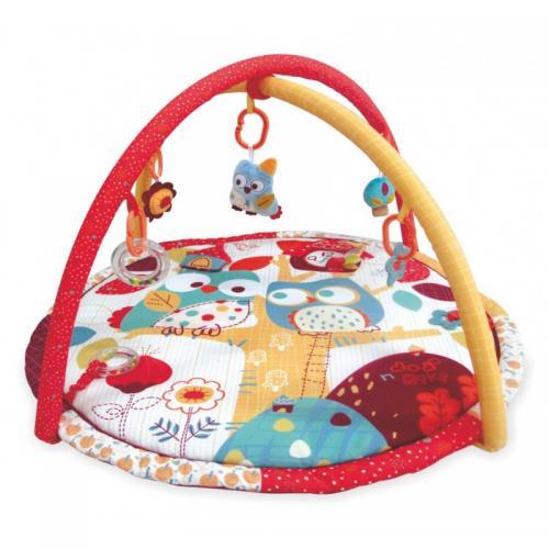 Детский игровой развивающий коврик BabyMix Совы Арт. 3367