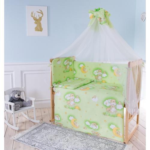 Комплект детского постельного белья Баю-бай Нежность 7 предметов