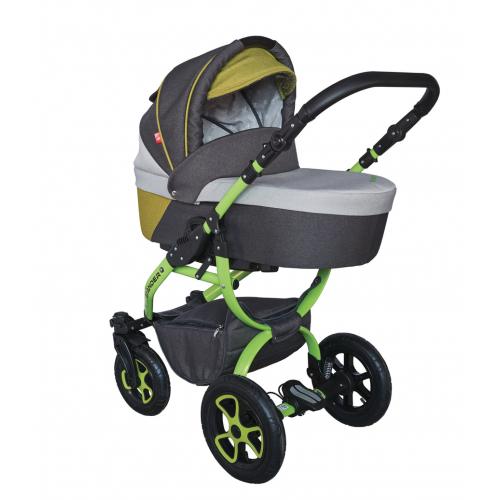 Детская модульная коляска Tutek Grander Lift NGF 3 в 1