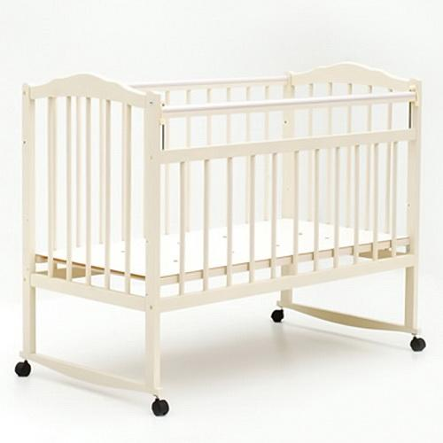 Детская кроватка колесо-качалка Bambini 09