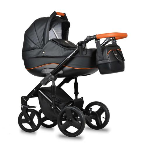 Детская модульная коляска Quali Carmelo Ecco 4 в 1