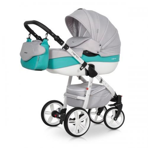 Детская модульная коляска Riko Nano Ecco 3 в 1