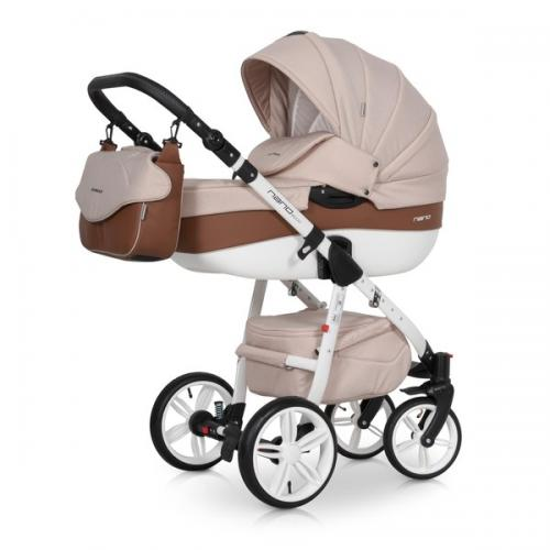 Детская модульная коляска Riko Nano Ecco 2 в 1