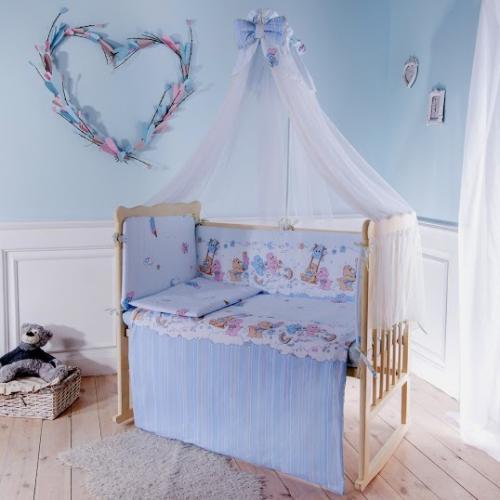 Комплект детского постельного белья Баю-бай Забава 7 предметов