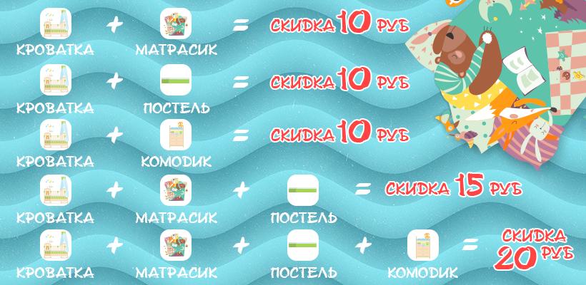 Постельное белье в кроватку купить в Минске