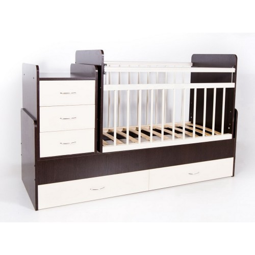 Детская кроватка-трансформер Bambini