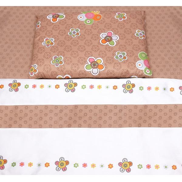 Комплект подросткового постельного белья Perina Цветы 3 предмета