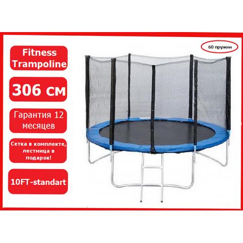 Батут Trampoline Fitness 10FT-standard