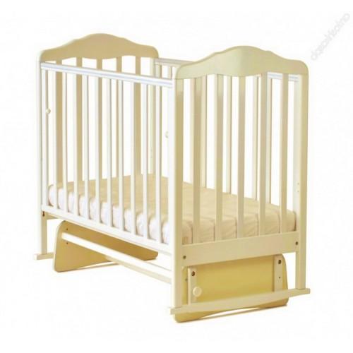 Детская кроватка СКВ 124009 бежевый