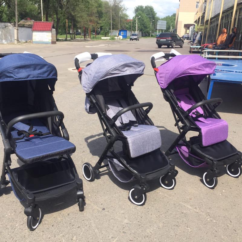 Детская прогулочная коляска BabyTime2 (коляска-чемодан)