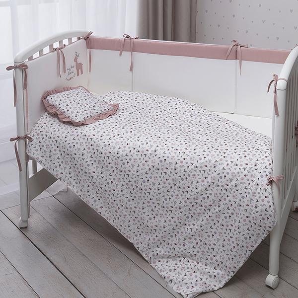 Комплект детского постельного белья Perina Little forest Карамель 7