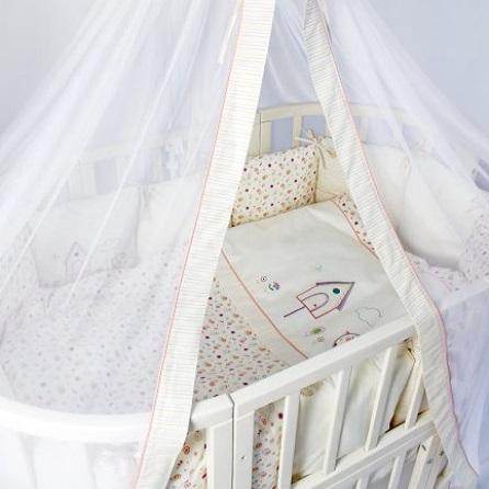Детское постельное белье Lappetti Домик для птички 6