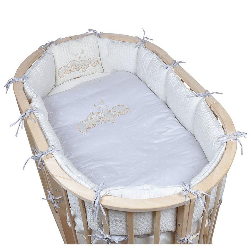 Детское постельное белье в овальную кроватку Pituso Звездочка 6