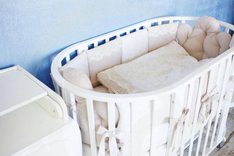 Комплект детского постельного белья Топотушки Облака 6 предметов