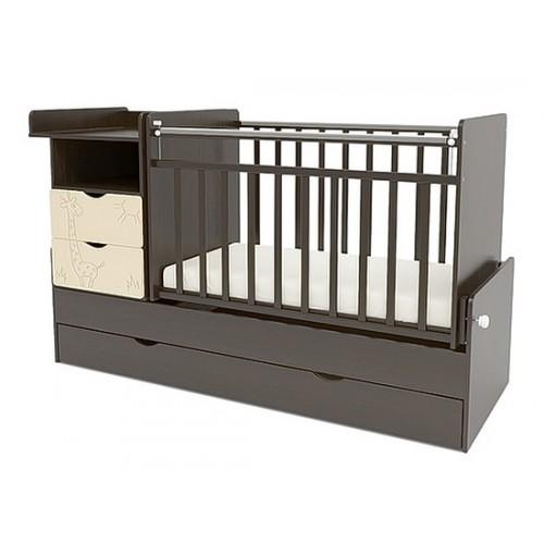 Детская кроватка-трансформер СКВ 550048-9