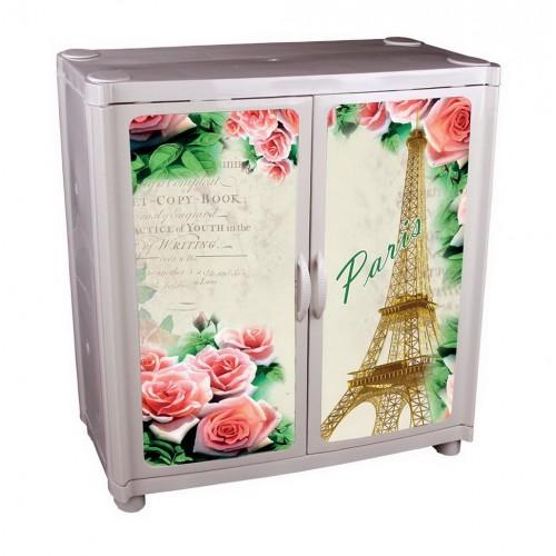 Пластиковый комод-шкаф Башпласт Париж №4 М5010