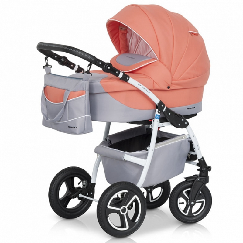 Детская модульная коляска Riko Angelo 3 в 1