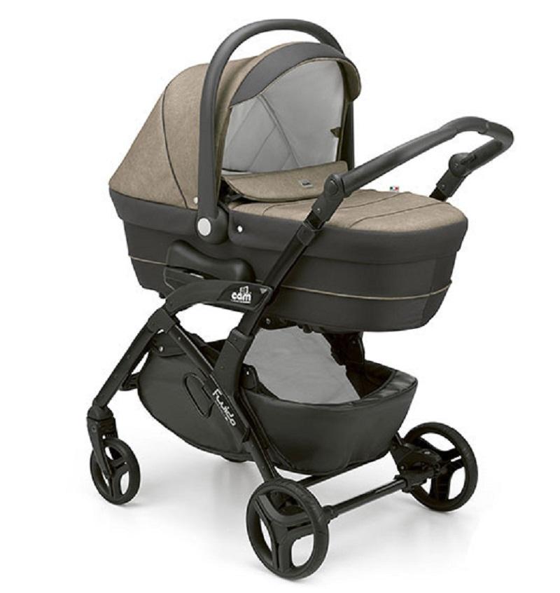 Детская модульная коляска CAM Fluido City Smart 2019 2 в 1