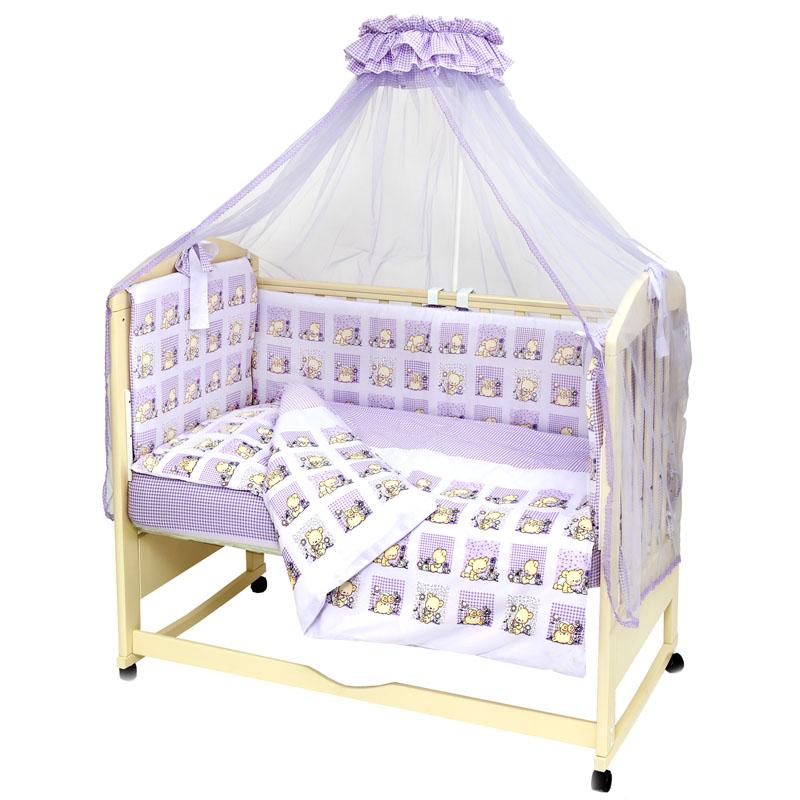 Комплект постельного белья Топотушки «Мишутка» 7 предметов