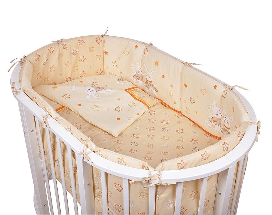 Детское постельное белье в овальную кроватку Pituso Зайки 6