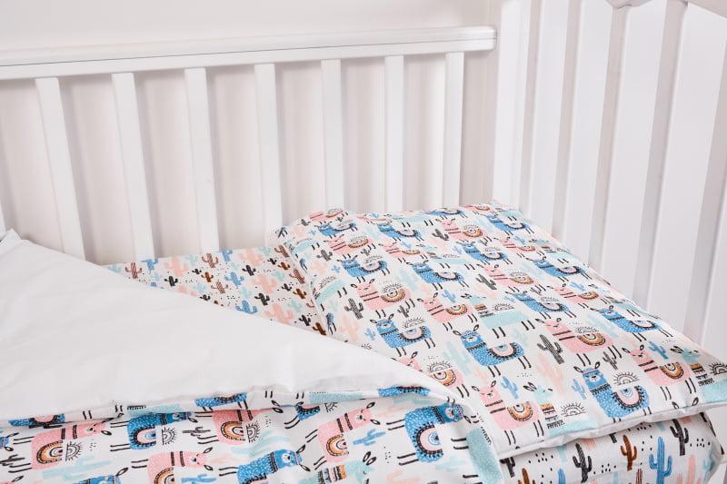 Комплект постельного белья Топотушки Ламы 3 предмета