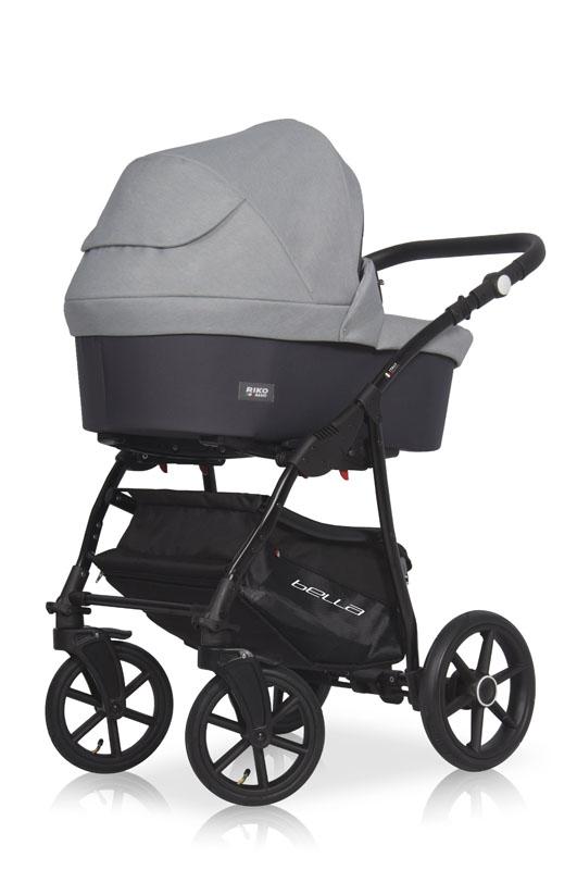 Детская модульная коляска Riko Basic Bella 2 в 1