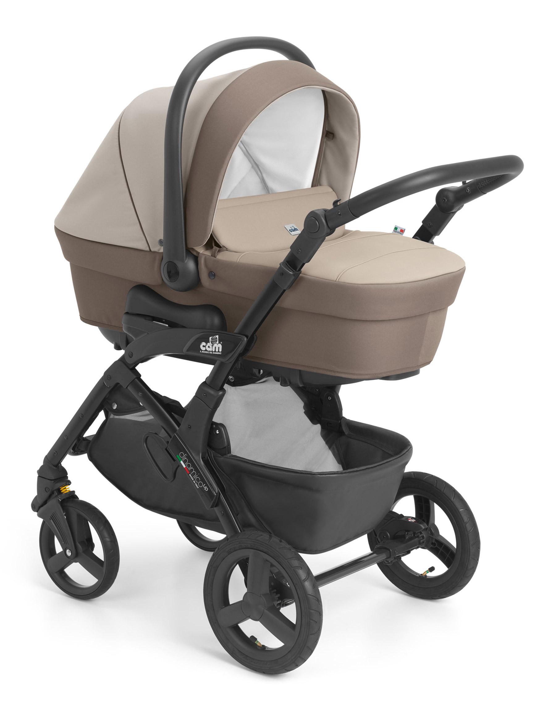 Детская модульная коляска CAM Dinamico Up Smart 2019 2 в 1