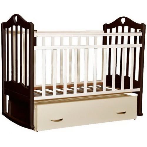 Детская кроватка Антел Каролина-4 - белый