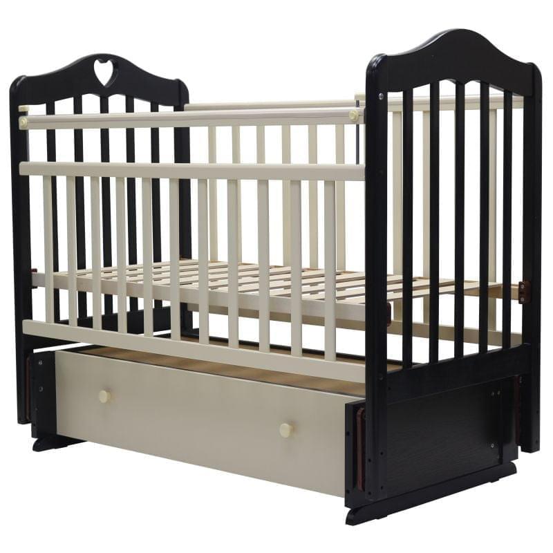 Детская кроватка с универсальным маятниковым механизмом Топотушки Оливия 7 (арт.37)