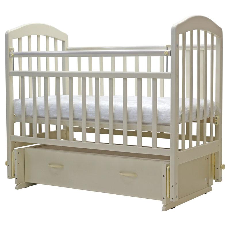 Детская кроватка с универсальным маятником Топотушки Лира 7 (арт.32)