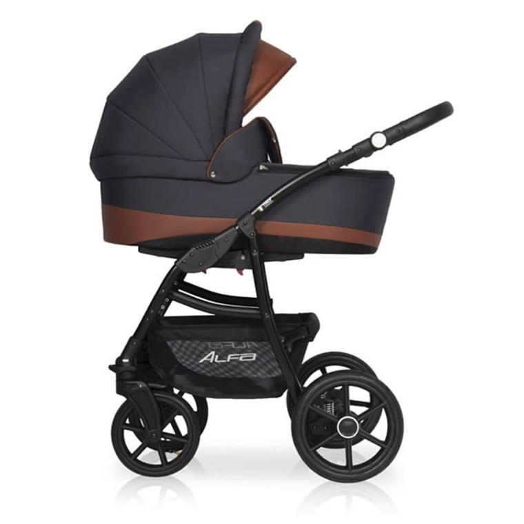 Детская модульная коляска Riko Alfa Ecco 2 в 1