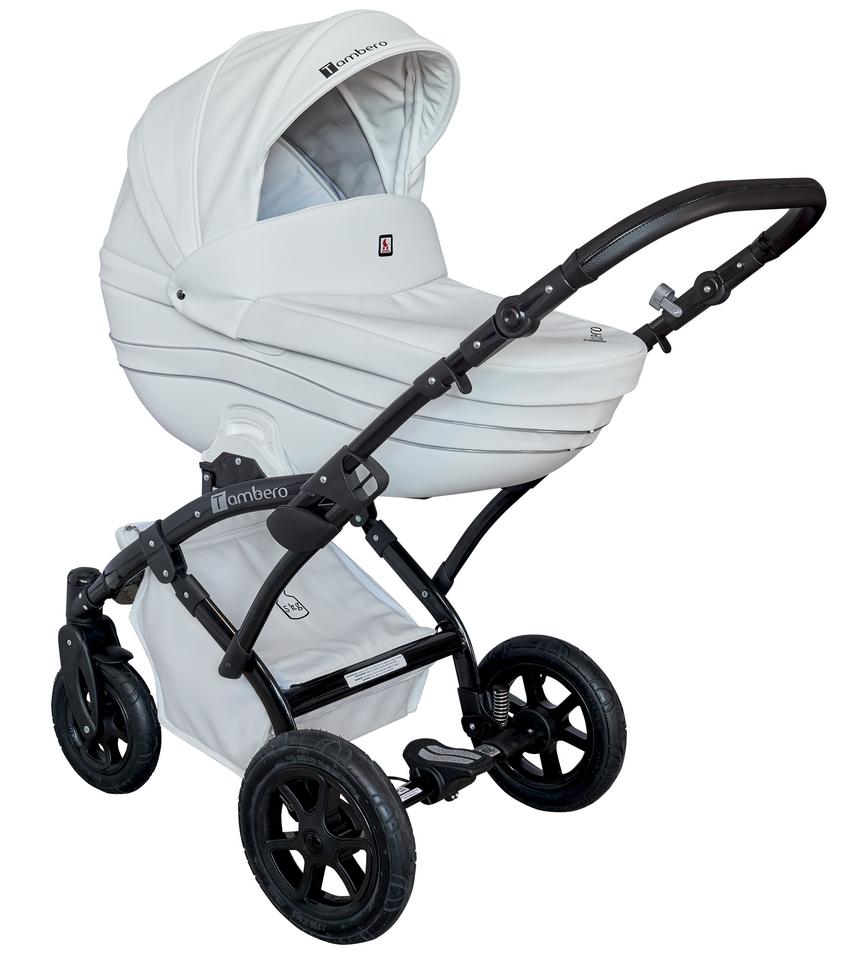 Детская модульная коляска Tutek Tambero ECO 3в1