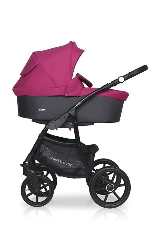 Детская модульная коляска Riko Basic Bella 3 в 1