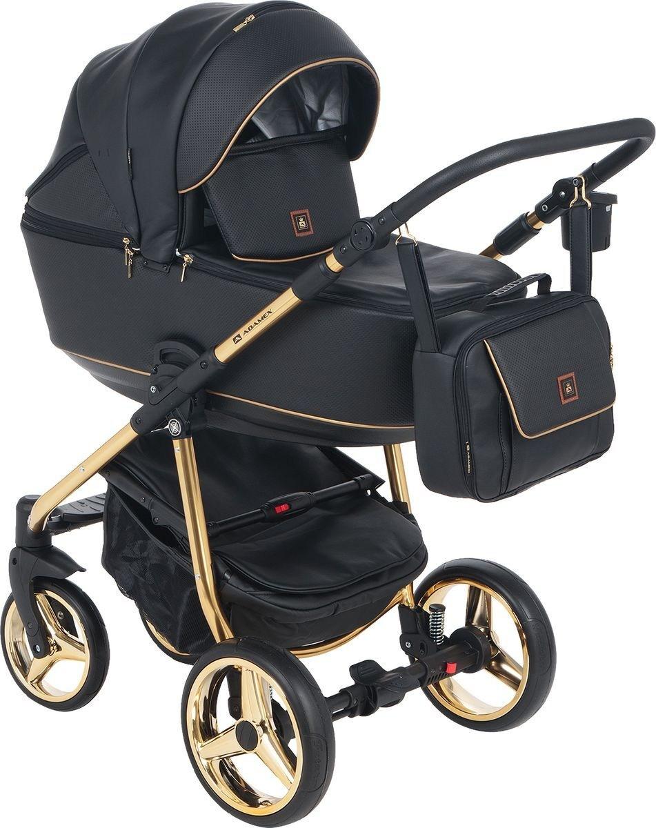 Детская модульная коляска Adamex Barcelona Eco 2в1