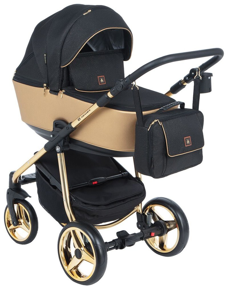 Детская модульная коляска Adamex Barcelona Special Edition 2в1
