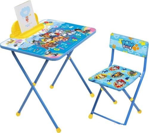 Детский комплект складной мебели Ника Щенячий патруль арт.Щ1