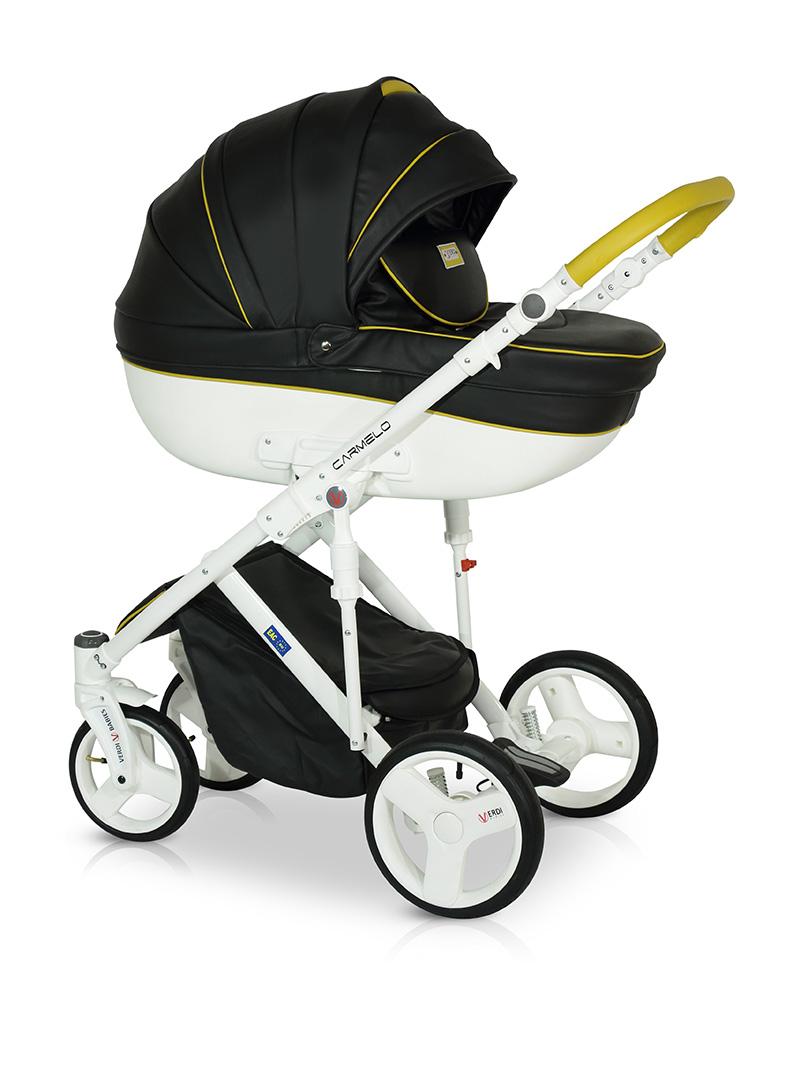 Детская модульная коляска Verdi Carmelo 3 в 1