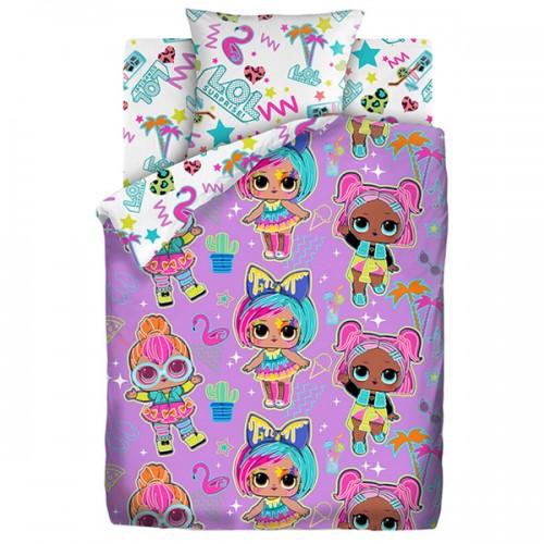 Детское постельное белье Glow Neon 651787 Светится в темноте