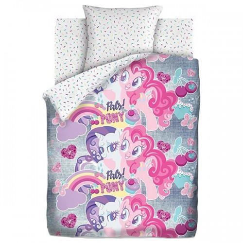 Детское постельное белье «My Little Pony» Подружки пони Neon 512421