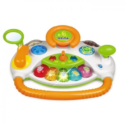 Музыкальная игрушка Юный водитель Weina