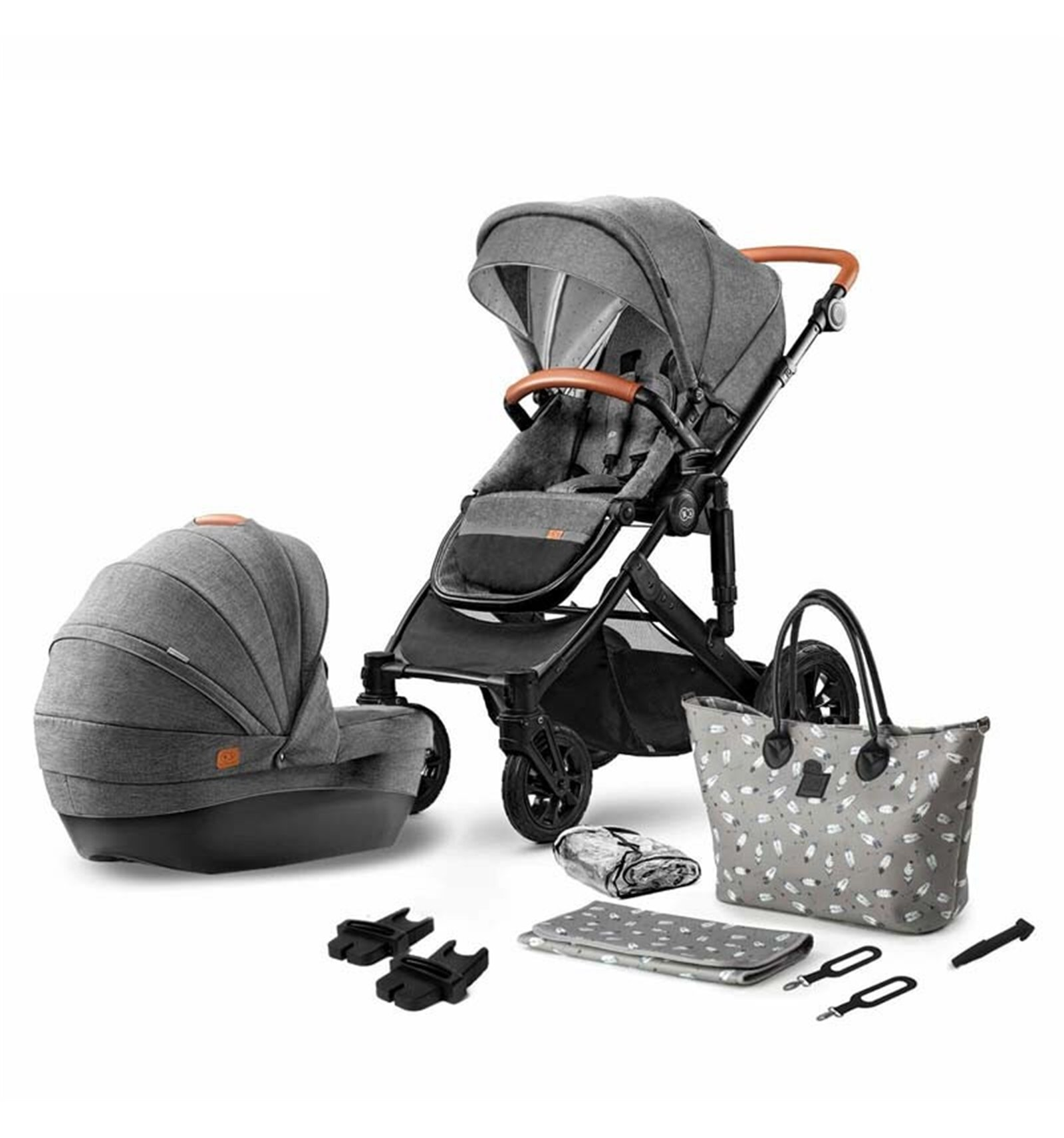 Детская модульная коляска KinderKraft Prime 3 в 1 2020